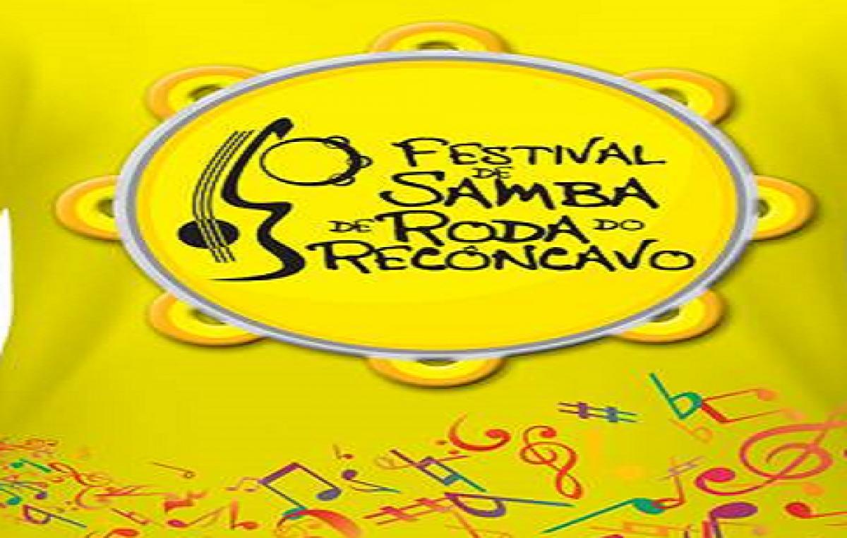 Município promove Festival de Samba do Recôncavo