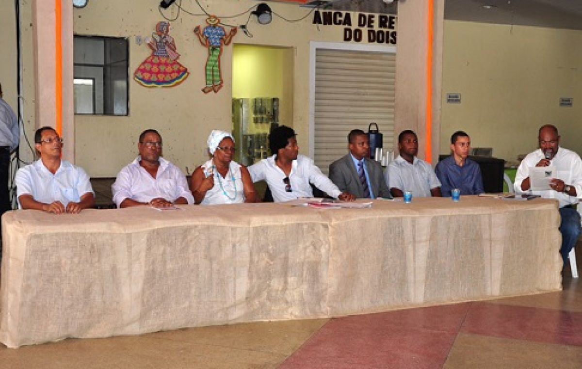 Mesas de debates abrem o Novembro Negro no município