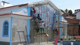 Capela de Nossa Senhora da Conceição da Praia ganha mosaico especial