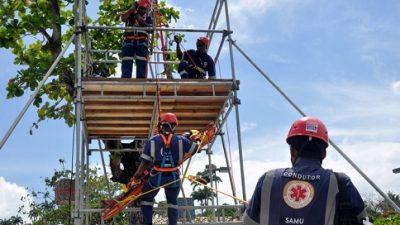 SAMU e Defesa Civil começam capacitação em Salvamento neste sábado (23)
