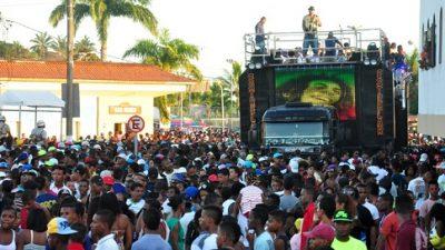 SETUR convoca representantes dos blocos, paredões e arrastões que desejam desfilar no período dos Festejos de Nossa Senhora da Conceição da Praia 2018