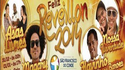 Asas Livres e Magary Lord fazem a festa no Réveillon