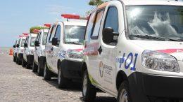 Saúde entrega à comunidade sanfranciscana seis ambulâncias 0 km