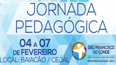 Edição 2014 da Jornada Pedagógica acontece de 04 a 07 de fevereiro