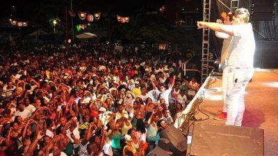 São Francisco do Conde celebrou a chegada de 2014 com festa