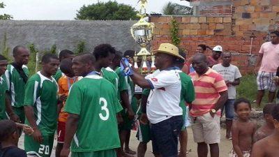Equipe de Ilha de Maré vence o 15º Campeonato de Futebol de Areia do Caípe