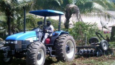 SEAP está fazendo a mecanização agrícola em terras de pequenos produtores