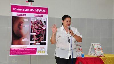 Saúde capacitou cerca de 150 profissionais sobre câncer de mama e linfoma