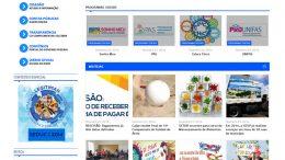 Prefeitura lança novo portal de informações