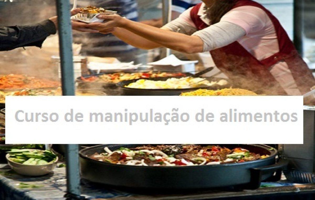 Turismo, Saúde e Meio Ambiente promovem curso de Manipulação de Alimentos