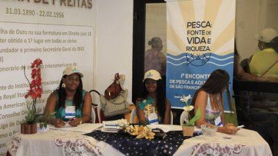 I Encontro de Pesca e Aquicultura aconteceu na última sexta-feira (21)
