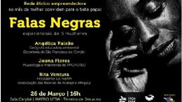 """Educadora Ambiental do município participa do projeto """"Falas Negras"""""""
