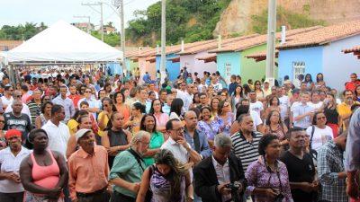 Monte Recôncavo recebe 20 unidades habitacionais do Conjunto Francisco Batista dos Anjos