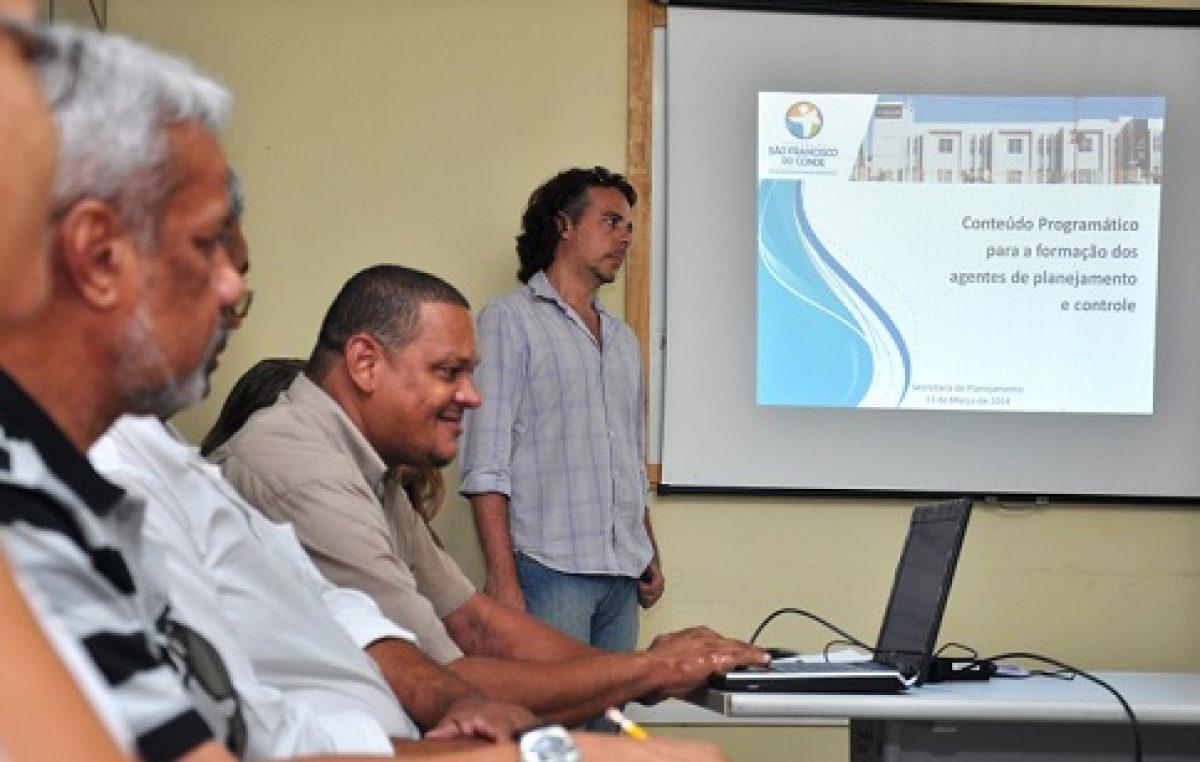 Seplan está dando  Curso de Formação para Agentes de Planejamento e Controle