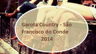 Concurso Garota Country de São Francisco do Conde abre inscrições