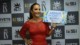 O público pediu, a Prefeitura atendeu: Ivete Sangalo se apresentará no Arraiá do Chico