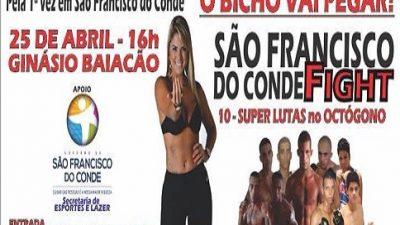 São Francisco do Conde sediará luta de MMA