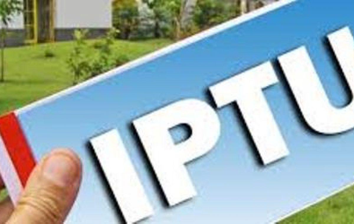 Datas de vencimentos do IPTU e outros tributos municipais são alteradas