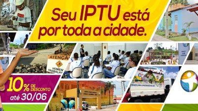 Em São Francisco do Conde, quem pagar o IPTU até 30 de junho ganha desconto