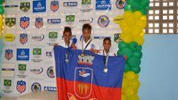 Karatecas sanfranciscanos conquistam 13 medalhas no Campeonato Brasileiro de Karatê