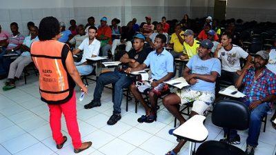 Reunião da SESP esclarece procedimentos do trabalho temporário no Arraiá do Chico