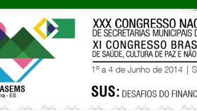 Município participará do encontro Conselho Nacional de Secretarias Municipais de Saúde
