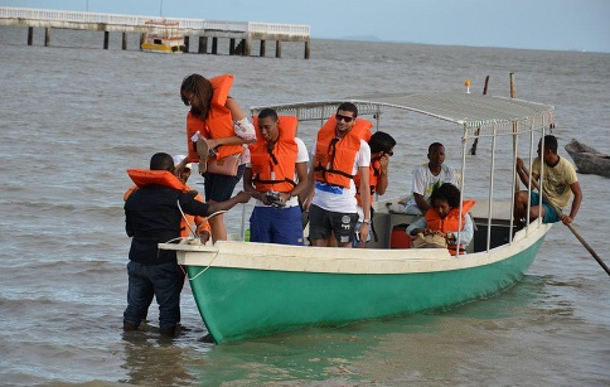SETUR oferece Passeio Náutico passando pela Ilha de Cajaíba