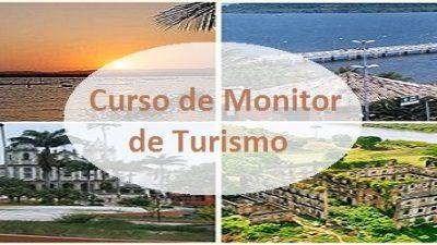 Aula Inaugural do curso para Monitores de Turismo acontece na próxima segunda (21)