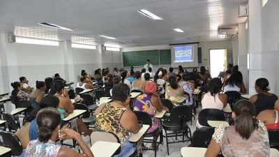 PAS conscientiza beneficiários quanto a educação dos filhos