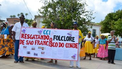 CCI realiza atividade de resgate ao folclore em São Francisco do Conde