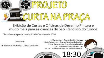 """""""Curta na Praça"""" promove inclusão social e interesse das crianças pela arte e cultura"""