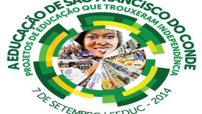 """7 de Setembro: """"A educação de São Francisco do Conde – Projetos de Educação que trouxeram independência"""""""