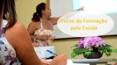 Professores são capacitados pelo programa Formação pela Escola
