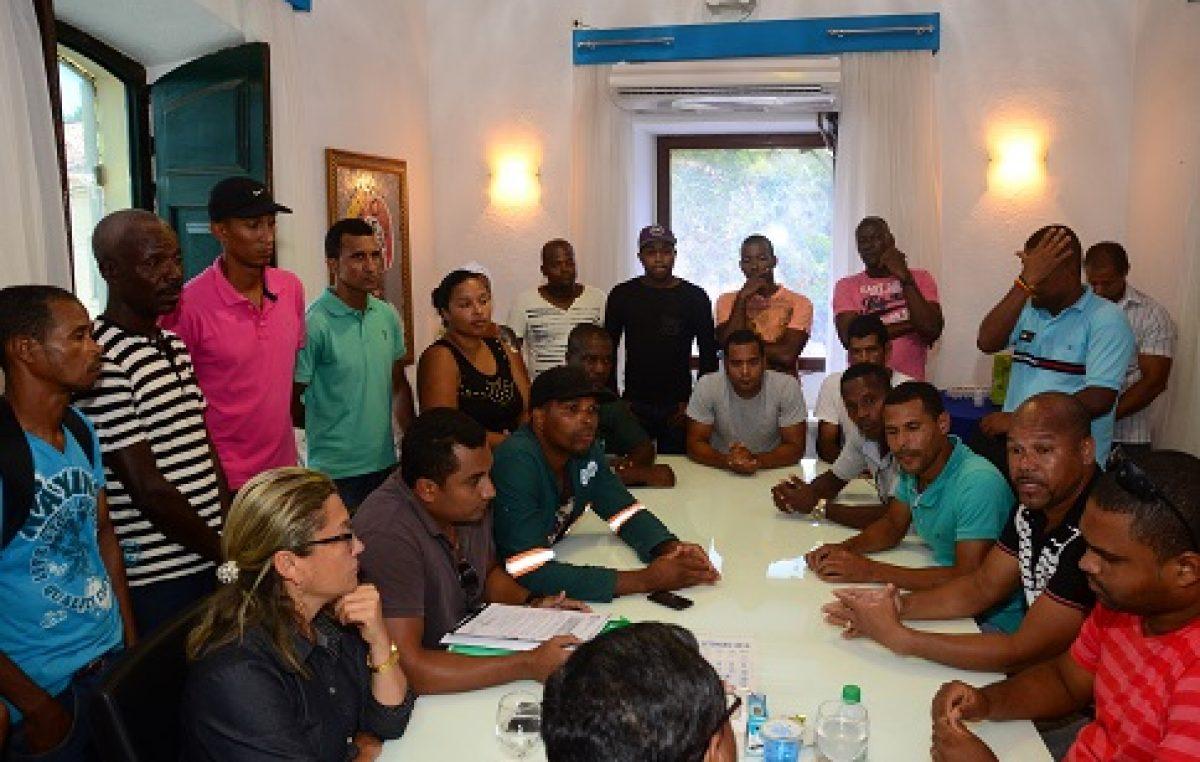 Prefeitura de São Francisco do Conde se reuniu com Associação de Trabalhadores Desempregados