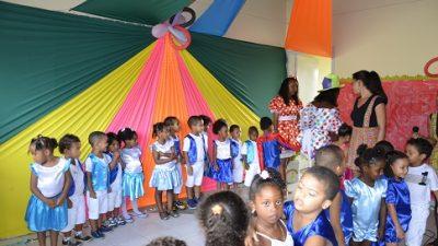 Ações da II Festa Literária aconteceram na Escola Isidória Borges, na quarta-feira (24)