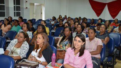 Professores alfabetizadores recebem capacitação em São Francisco do Conde