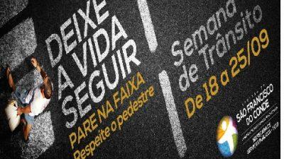 Motoristas da Prefeitura e condutores de transporte escolar irão participar de palestra nesta quarta-feira (24)