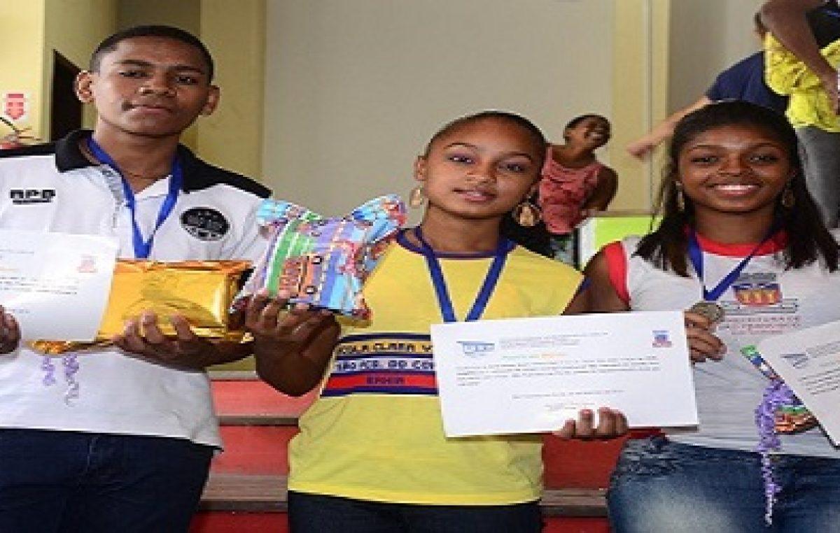 Secretaria de Turismo premiou os vencedores do Concurso de Slogan