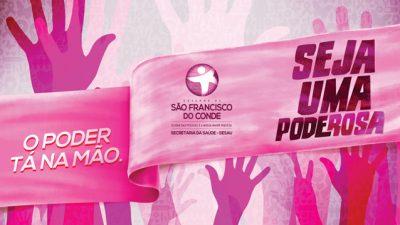 Acompanhe as ações programadas para o Outubro Rosa em São Francisco do Conde