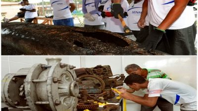 Município formou 36 alunos em Reparação de Embarcações e Mecânica Marítima através do SENAI