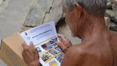 Mutirão Socioambiental em Santo Estevão levou diversos serviços à comunidade