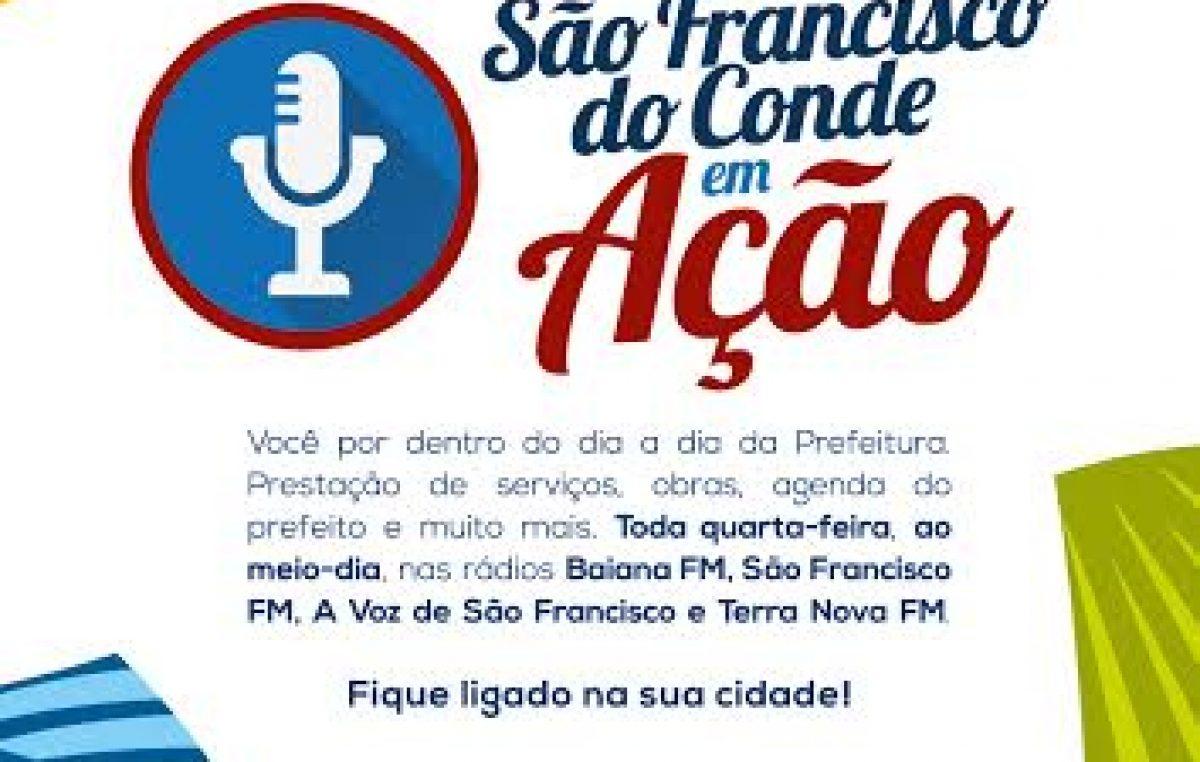 """Confira os destaques da 14ª edição do programa """"São Francisco do Conde em Ação"""""""