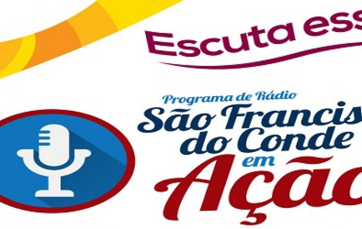 Programa de rádio São Francisco do Conde em Ação recebeu o secretário da Fazenda e Orçamento do município