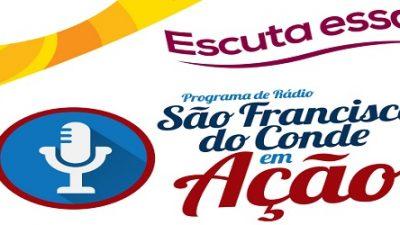 São Francisco do Conde em Ação edição 37 recebeu o prefeito Evandro Almeida