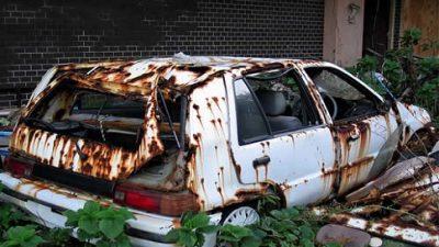 SESP removerá das ruas do município carros que estejam com sinais de abandono