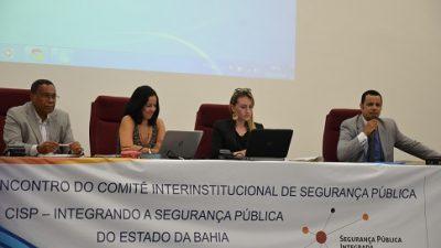 Encontro do Comitê Interinstitucional de Segurança Pública reuniu autoridades para discutir o tema