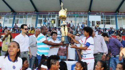 São Francisco vence pela 13ª vez o Campeonato Baiano de Futebol Feminino