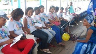 Alunos do CEAS participaram do projeto Navegando no Saber