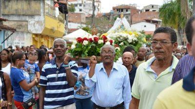 Fé e a devoção marcaram a procissão de Nossa Senhora da Conceição da Praia