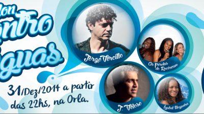 Réveillon Encontro das Águas terá J. Veloso e Jorge Vercillo como atrações da noite